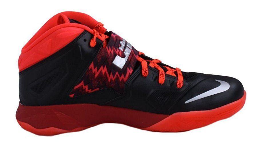 Nike zoom soldat sz vii s. 7 lebron james mens sz soldat 12 basketball - schuhe 609679-005 759567