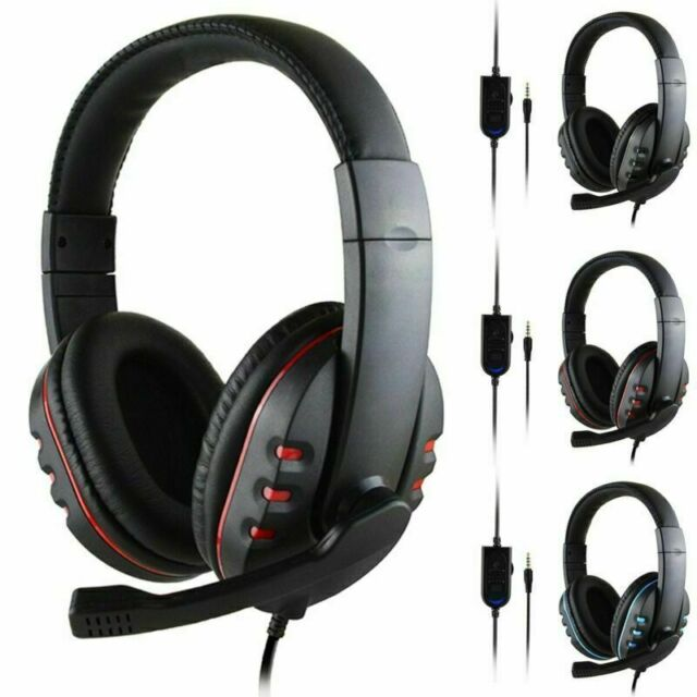 Stereo Bass Surround Wired Gaming Headset with HD Mic for PS4/Xbox On/PC/Laptop