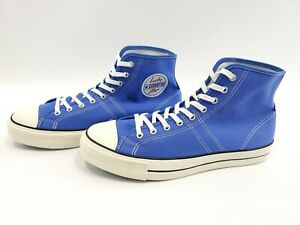 Converse-Chuck-Taylor-Lucky-Star-Blue-White-Hi-Top-Shoes-Mens-Size-9