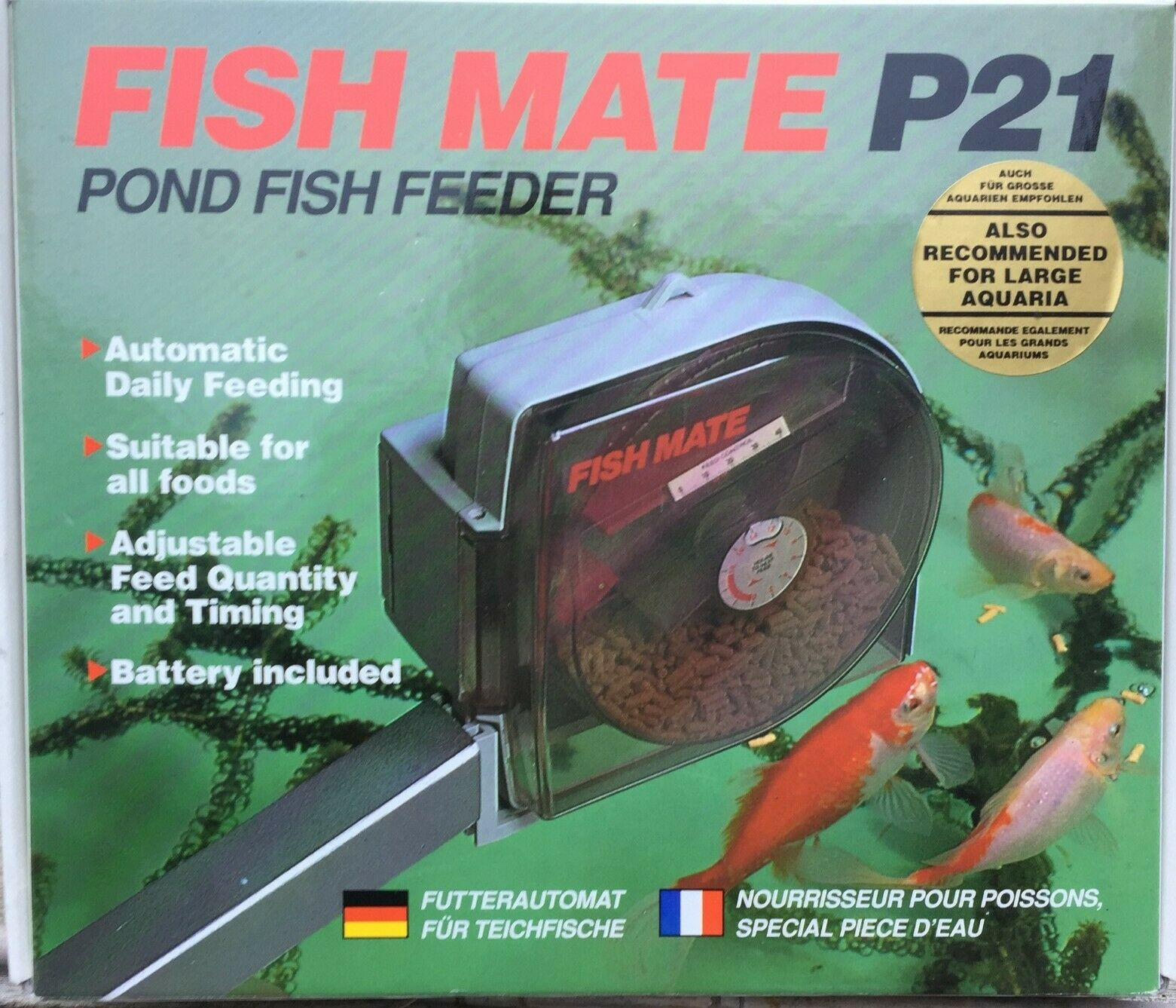 Fish Mate automatic pond feeder P21