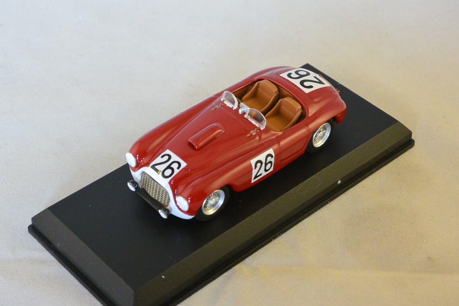 Art MODEL 286 - Ferrari 166 MM  26 24H du Mans - 1950  1/43