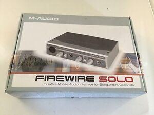 M-audio Firewire Solo Recording Interface Driver Free Download