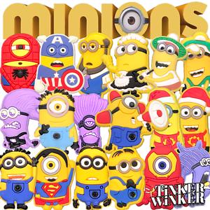 MINIONS-Schuh-Pins-Crocs-Clogs-Disney-Schuhpins-Basteln-Batman-jibbitz