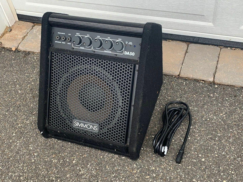 Simmons DA50S V-Drum Personal Monitor Speaker Amplifier DA-50S for TD 30 20 12 9