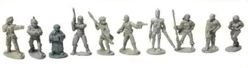 Star Wars 40303 - 25mm Bounty Hunters Complete Set West End Game