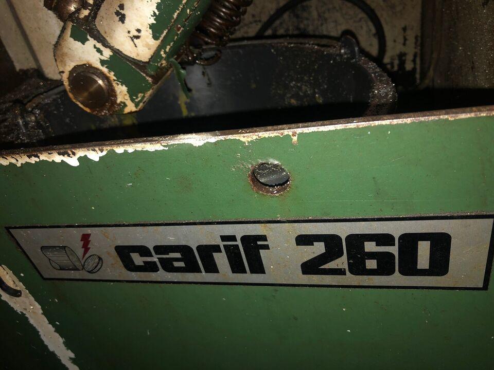 Metal båndsav, Carif 260