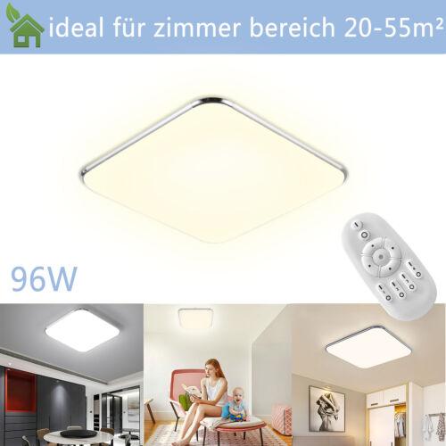 12-128W LED Deckenlampe Deckenleuchte Küchenlampe Aufbau Panellampe Dimmbar IP44