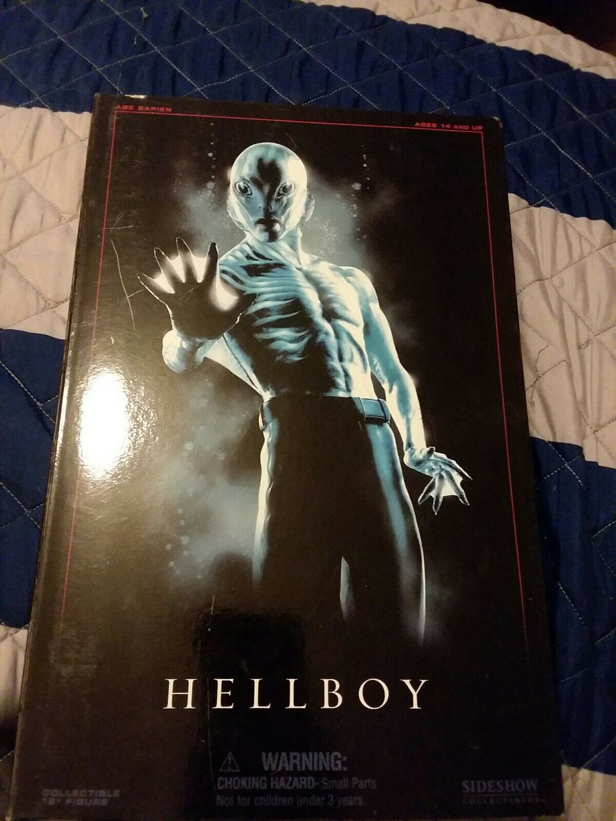 "Hellboy Abe Sapien Sideshow MIB 1 6 Scale 12"" Action Figure"