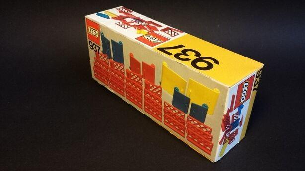 LEGO 937 scatola originale non aperto non aperto MINT BOXED