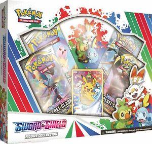 Pokemon-TCG-Sword-amp-Shield-Figure-Collection-4-Booster-Packs-Rebel-Clash