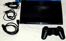 PLAYSTATION 3 SUPER SLIM KONSOLE (250 GB) + SONY SIXAXIS CONTROLLER + HDMI 250GB