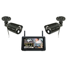 "Uniden UDR777HD Wireless Surveillance System with 7"" MONITOR 2 1080P HD CAMERAS"