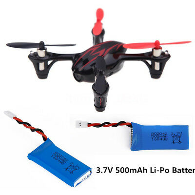 3.7V 500mAh LiPo Battery For Hubsan X4 H107 H107L//C//D V252 JXD 385 RC Drone