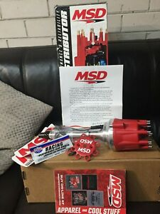 MSD-Ignition-MSD83606-Chev-BB-amp-SB-V8-Distributor-Pro-Billet-Ready-to-Run-Magnet