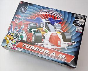 Bandai Power Rangers Turbo 7 en 1 R.a.m.   Mobilizer Arsenal robotique (nouveau) 45557029616