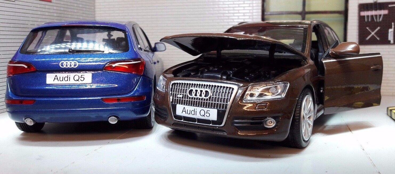 1 1 1 24 escala Audi Q5 Quattro TDI 4x4TFSI V6 de Metal Detallado d1b2ea
