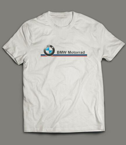BMW Motorrad T-Shirt Biker Motorcycle Rider White T-Shirt Size S to 4XL
