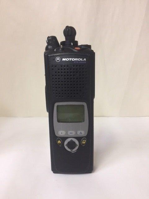 Motorola XTS 5000 Model II 800 Mhz P25 Portable Radio Black (Radio Only)