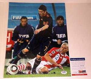 DAVID-VILLA-2010-SPAIN-WORLD-CUP-NYCFC-SIGNED-AUTOGRAPH-11X14-PHOTO-PSA-DNA-COA