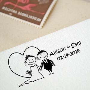 Personalized-Unmounted-Custom-Wedding-Rubber-Stamp-RE509