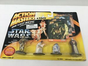 Kenner-Action-Masters-Star-Wars-Die-cast-Collectibles-4-pack-1994
