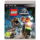 Lego Jurassic World Ps3 With DLC Includes 6 Characters and 2 Vehicles