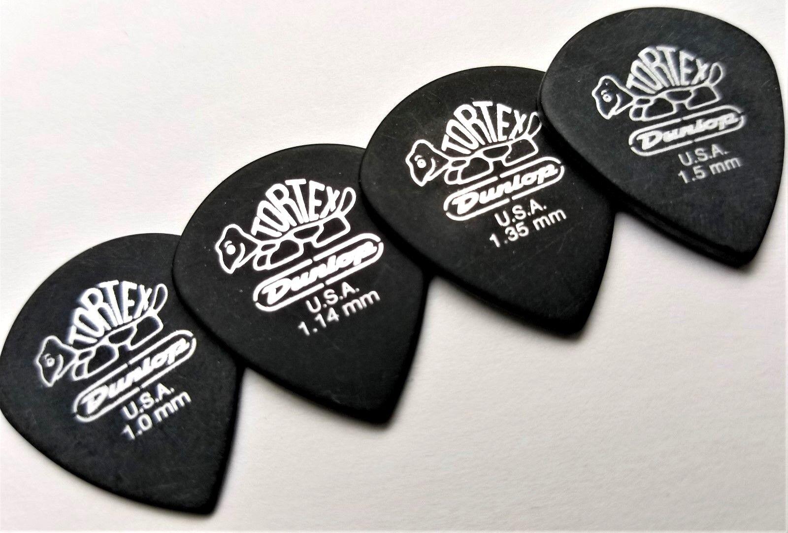 Dosige Lot de 12 Guitar Picks M/édiators de Guitare M/édiators Tortex Couleur Al/éatoire