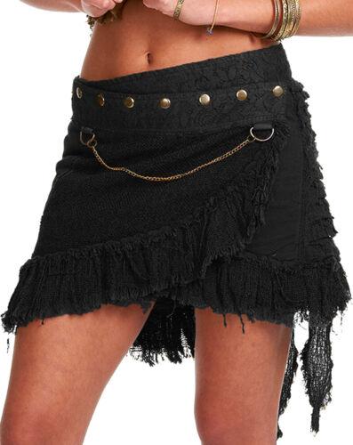 pixie skirt GEKKO skirt elf fairy skirt STEAMPUNK SKIRT festival clothing