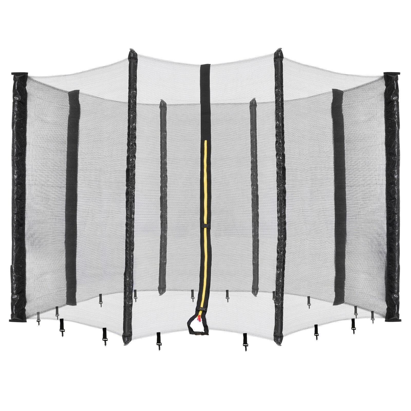 Arebos Trampolin Netz Sicherheitsnetz Fangnetz Schutznetz für 8 Stangen 396 cm
