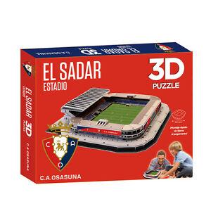 Puzzle-3D-Estadio-El-Sadar-Producto-Oficial-C-A-Osasuna-Montaje-Rapido