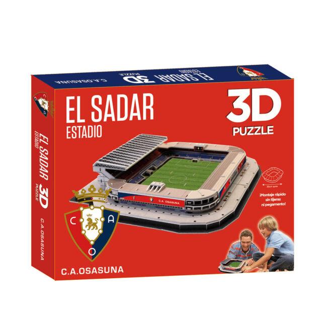 Puzzle 3D Estadio El Sadar (Producto Oficial C.A. Osasuna) - Montaje Rápido