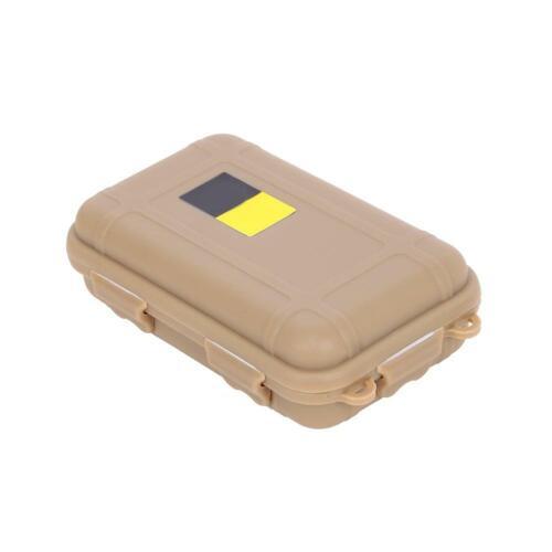 Outdoor wasserdichte luftdichte Überlebens-Aufbewahrungsbox Container Carry #OS
