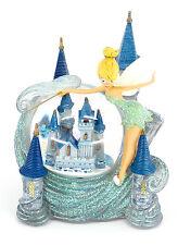 NEW Disney World Cinderella Castle & Tinker Bell Snow Globe Tinkerbell Snowglobe