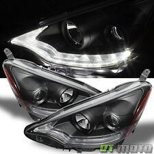 Black 2012-2014 Toyota Prius C Projector Headlights w/Daytime LED Running Light
