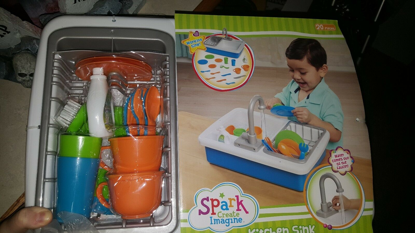 Spark Spark Spark imagine kitchen sink (sold out in stores) brand new   450f49