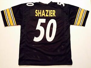 Details about UNSIGNED CUSTOM Sewn Stitched Ryan Shazier Black Jersey - M, L, XL, 2XL