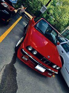 BMW 325i E30 convertible automatic