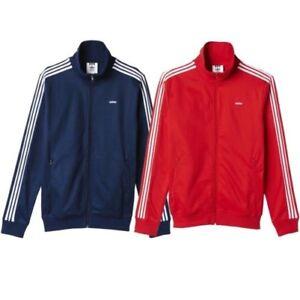 cosecha Cien años Dar derechos  Adidas Originals HOMBRE Beckenbauer Og Chaqueta Marino Rojo Clásico Casual  Track | eBay