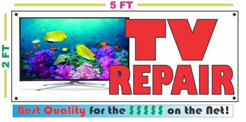 TV REPAIR Full Color Banner Sign NEW