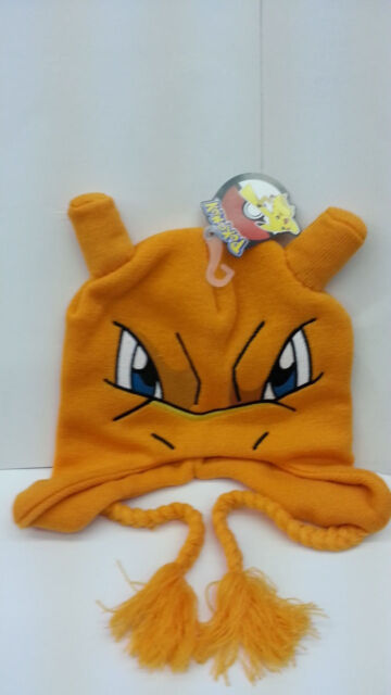 5be6718dcdc Pokemon Charizard Big Face Laplander Beanie Hat One Size Fits Most ...