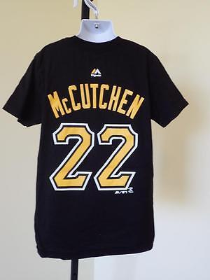 Shirt Ein Unbestimmt Neues Erscheinungsbild GewäHrleisten 8 Andrew Mccutchen #22 Pittsburgh Pirates Kinder Jugendliche Warnen Neu