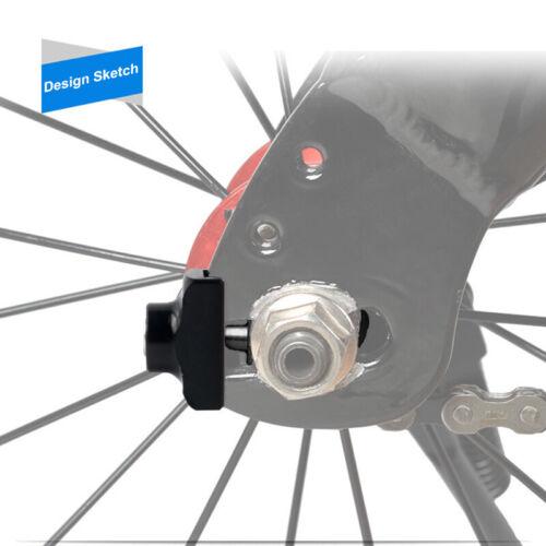 Bikes Chain Tugs Adjuster Tensioner BMX Bicycle Fixie Fastener Upkeep Fastener