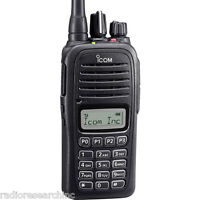 Icom F2000t Full Keypad Lcd Uhf 400-470mhz Radio Battery Antenna Charger