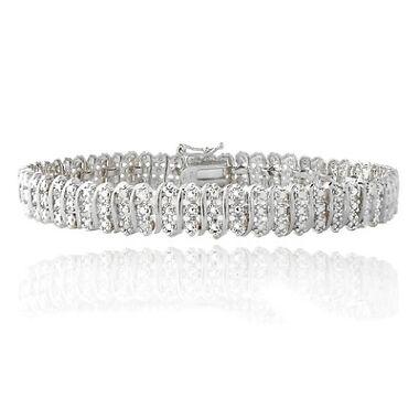 1.00ct TDW Natural Diamond Bracelet