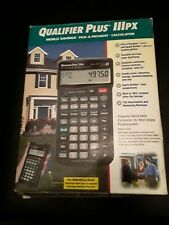 New Listingqualifier Plus Lllpx Calculator Model 3441 Great Condition No Manual