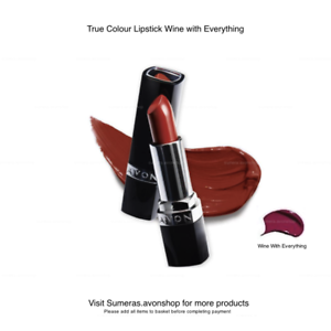 Avon True Colour Lipstick Wine With Everything Great Christmas