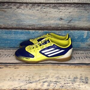 adidas-F-SD-Indoor-Soccer-Blue-Yellow-Shoes-US-Men-s-Size-US-5