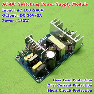 AC-DC Converter AC 110V 220V 230V to 36V 5A 180W Step Down Power Supply Module