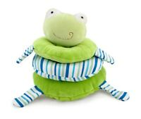 Rich Frog Little Stacker Frog Green Stacking Activity Toy Cloth Stuffed 0+