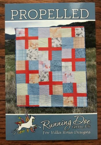 Propelled Quilt Pattern